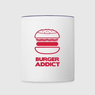 BURGER ADDICT - Contrast Coffee Mug
