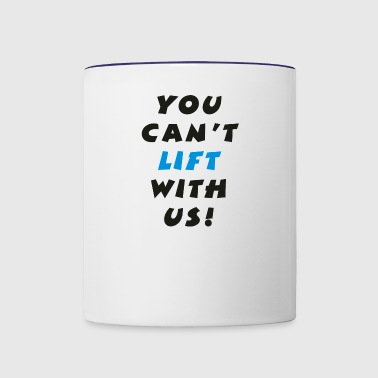 Lifting - Contrast Coffee Mug