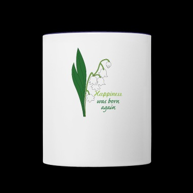 lily of the valley - Contrast Coffee Mug
