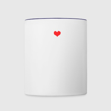 I Love Heart Edm - Contrast Coffee Mug