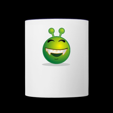 alien - Contrast Coffee Mug