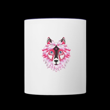 Wolves - Contrast Coffee Mug
