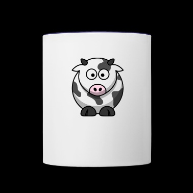 Cow - Contrast Coffee Mug