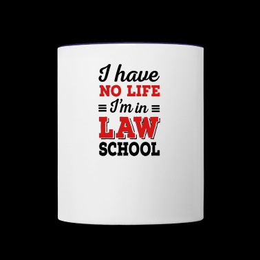 law school - Contrast Coffee Mug
