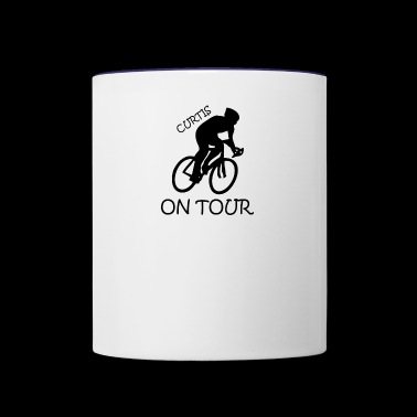 BIKE ON TOUR - Contrast Coffee Mug