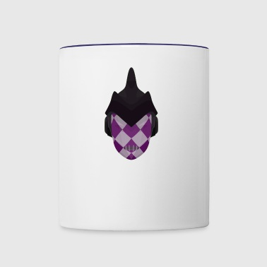 purple haze jojo jjba bizarre adventure - Contrast Coffee Mug