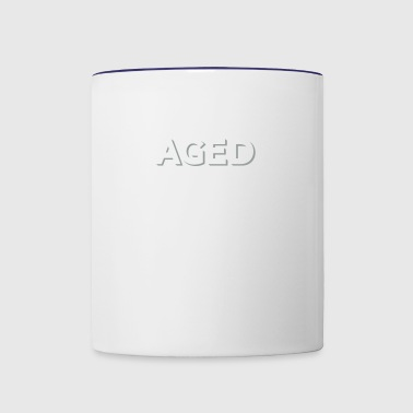 Aged To Perfection! - Contrast Coffee Mug