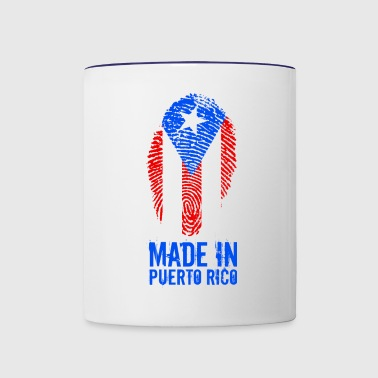 Made In Puerto Rico - Contrast Coffee Mug