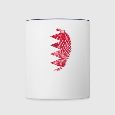 Made In Bahrain / البحرين - Contrast Coffee Mug