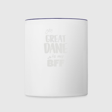 Great Dane - Contrast Coffee Mug