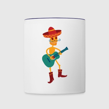 Undead Mexican - Contrast Coffee Mug