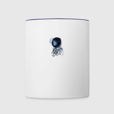 Eclipse astronaut - Contrast Coffee Mug