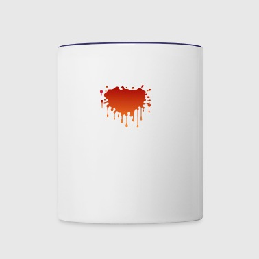 Blood Spatter - Contrast Coffee Mug