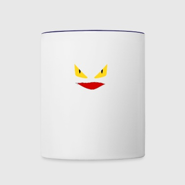 Toothless Face Zipper Mouth - Contrast Coffee Mug