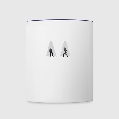 The Dancers - Contrast Coffee Mug