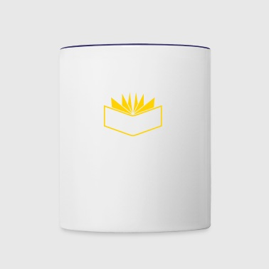 Book - Contrast Coffee Mug
