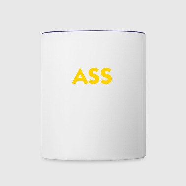 Ass: The Other Vagina! - Contrast Coffee Mug