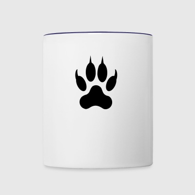 Cat Paw - Contrast Coffee Mug