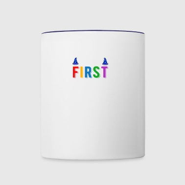 Team 1st First Grade - Back To School T-Shirt - Contrast Coffee Mug