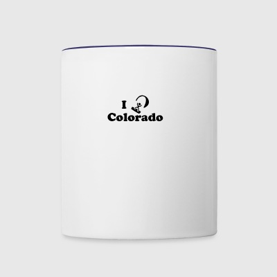 colorado kiteboarding - Contrast Coffee Mug