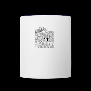 The Ocean of Story - Contrast Coffee Mug