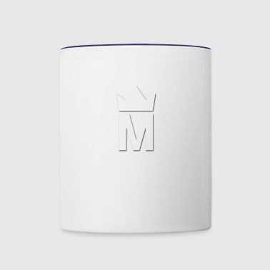 White Majesty Logo - Contrast Coffee Mug