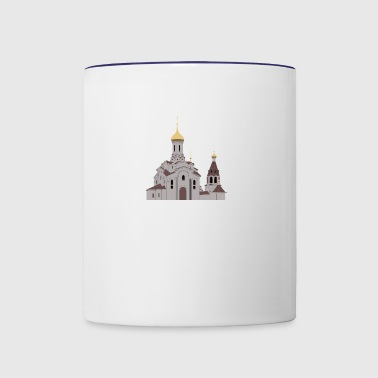 Orthodox church - Contrast Coffee Mug