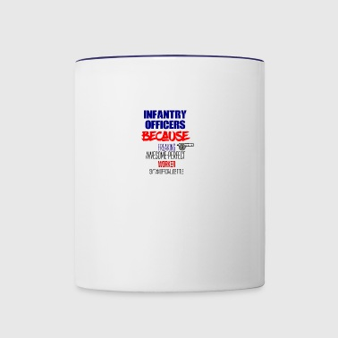Infantry officers - Contrast Coffee Mug