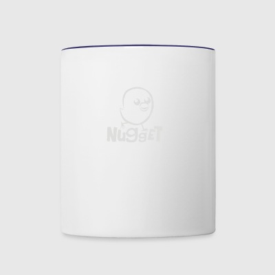 silly chicken nugget - Contrast Coffee Mug