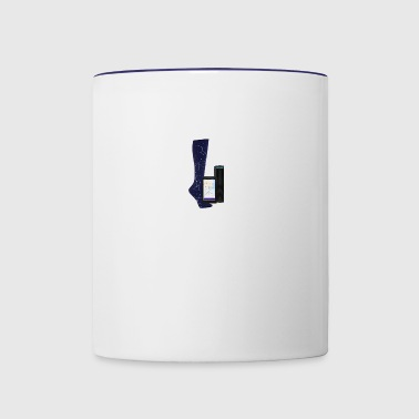 foot design - Contrast Coffee Mug