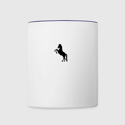 horsedesign - Contrast Coffee Mug