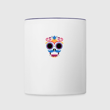 mexico skull - Contrast Coffee Mug