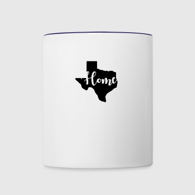 Texas Home - Contrast Coffee Mug