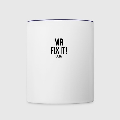 Mister Fix it - Contrast Coffee Mug