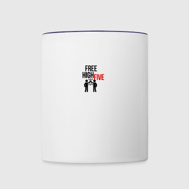 High Five - Contrast Coffee Mug