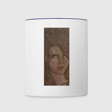Brown eyed sprite - Contrast Coffee Mug