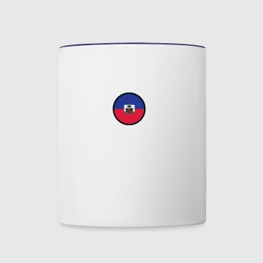 Under The Sign Of Haiti - Contrast Coffee Mug