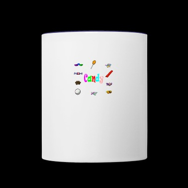 candy - Contrast Coffee Mug