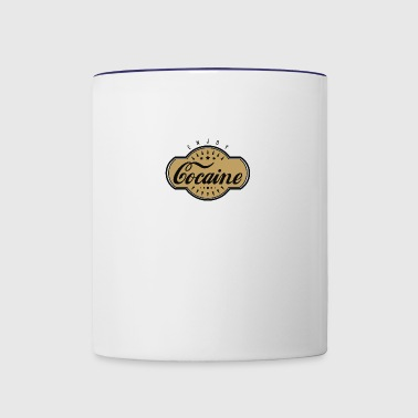 Cocaine - Contrast Coffee Mug