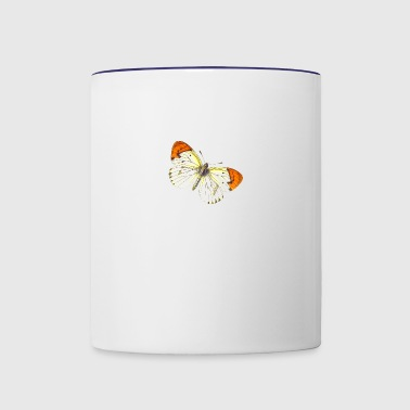 Butterfly Illustration - Contrast Coffee Mug