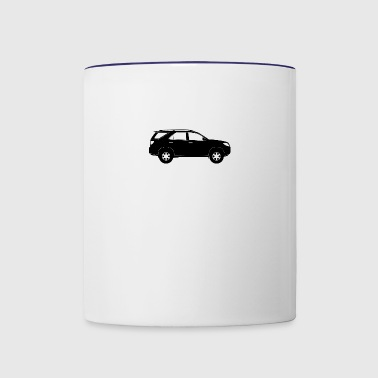 Sports Utility Vehicle - Contrast Coffee Mug