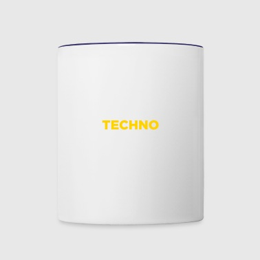 Techno Music! - Contrast Coffee Mug