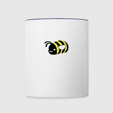 Fumbly Bumbly Bee - Contrast Coffee Mug