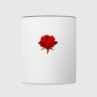 A Rose is a Rose - Contrast Coffee Mug
