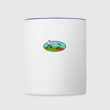 Landscaping - Contrast Coffee Mug