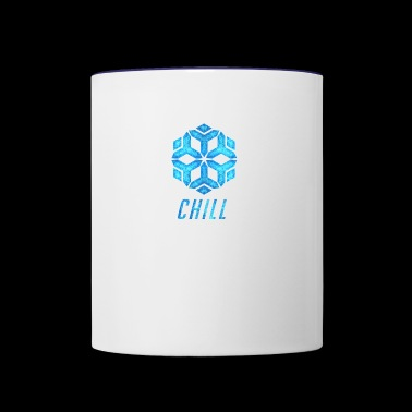 chill - Contrast Coffee Mug