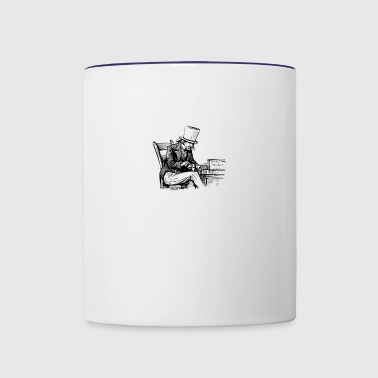 The Smoker - Contrast Coffee Mug