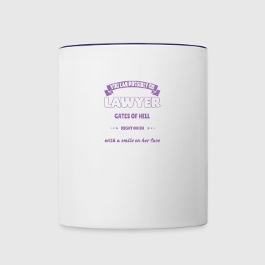 Lawyer - Contrast Coffee Mug