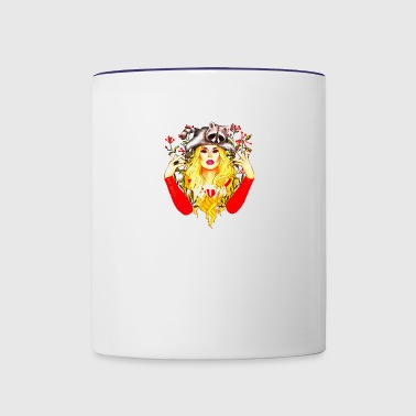 Flower Katya - Contrast Coffee Mug