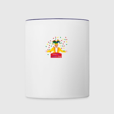 Labor day - Contrast Coffee Mug